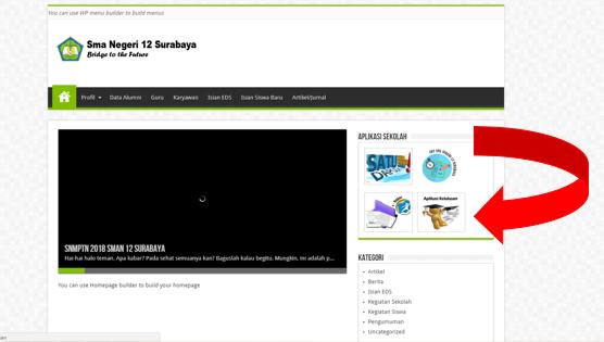 aplikasi web kelulusan